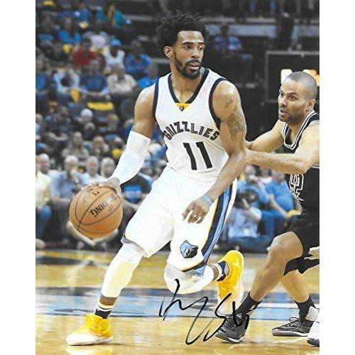 Mike Conley, Memphis Grizzlies, Signed, Autographed, Basketball, 8X10 Photo, a Coa with the Proof Photo of Mike Signing Will Be Included,