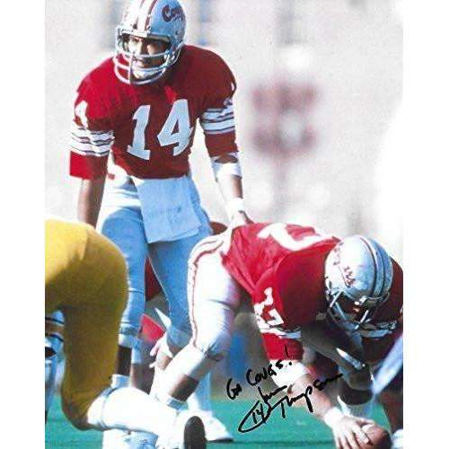 Jack Thompson, Washington State Cougars, Signed, Autographed, 8X10 Photo, a COA with the Proof Photo of Jack Signing Will Be Included