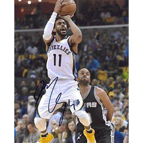 Mike Conley, Memphis Grizzlies, Signed, Autographed, Basketball, 8X10 Photo, a Coa with the Proof Photo of Mike Signing Will Be Included...