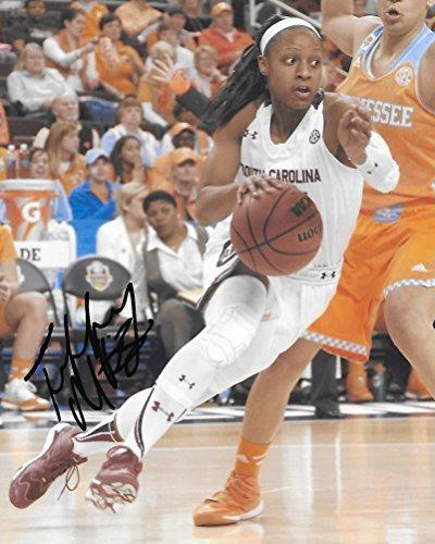 Tiffany Mitchell, South Carolina Gamecocks, Indiana Fever, Signed, Autographed, 8X10 Photo, a COA with the Proof Photo of Tiffany Signing Will Be Included.