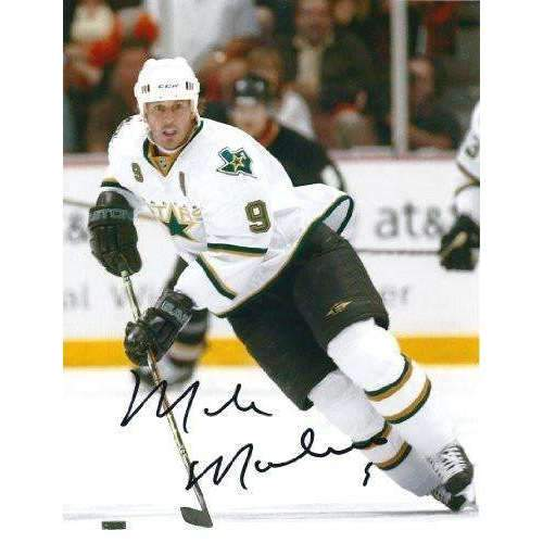 Mike Modano, Dallas Stars, Detroit Red Wings, USA, HOF, Signed, Autographed, Nhl, 8X10, Photo ,Coa, Exact Proof