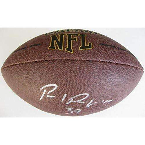 Paul Perkins, New York Giants, UCLA, signed, Autographed, NFL Football, a COA with the Proof Photo of Paul Signing Will Be Included