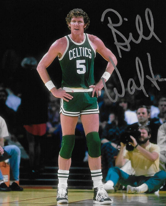Bill Walton Boston Celtics signed, autographed Basketball 8x10 photo, exact proof COA