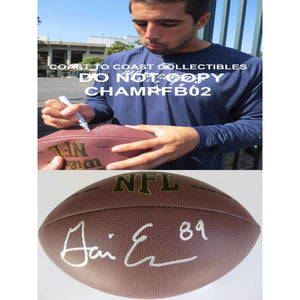 Gavin Escorbar, Dallas Cowboys, San Diego State, Signed, Autographed, NFL Football, a COA with the Proof Photo of Gavin Signing Will Be Included with the Football