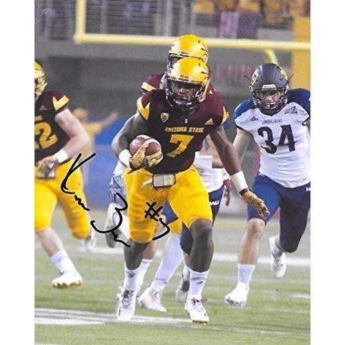 Kalen Ballage, Arizona State Sun Devils, ASU, Signed, Autographed, 8X10 Photo, a COA with the Proof Photo of Kalen Signing Will Be Included-
