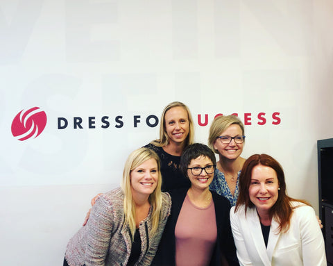 BD at Dress For Success Twin Cities