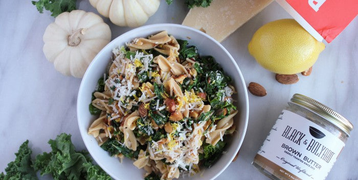 Autumn Pasta with Red Chili Brown Butter