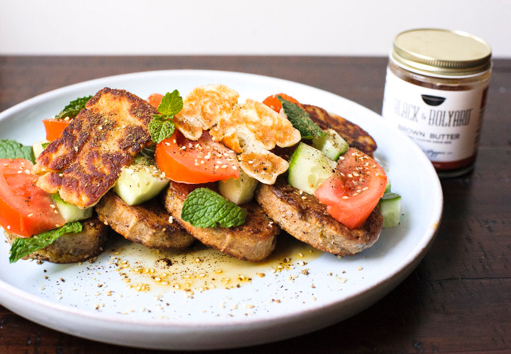 Savory Lebanese French Toast
