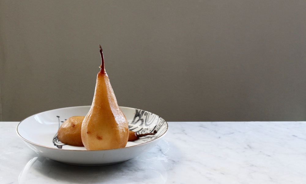 Dona Chai Poached Pears