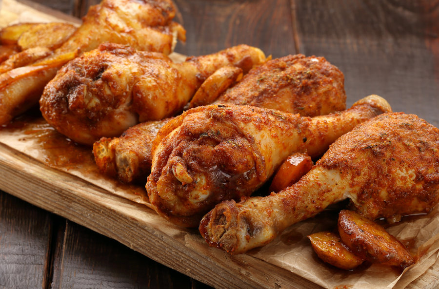 Spicy Moroccan Drumsticks