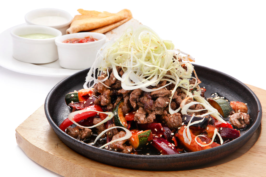 Sizzling Chipotle Steak Fajitas