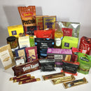 Office shout hamper filled with chocolates and snack for staff room
