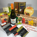 Wine Christmas gift basket for Christmas