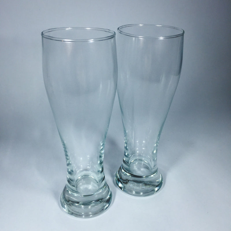 Two beer drinking glasses from Lower Hutt