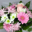 Porirua florist shows off roses and pink flowers