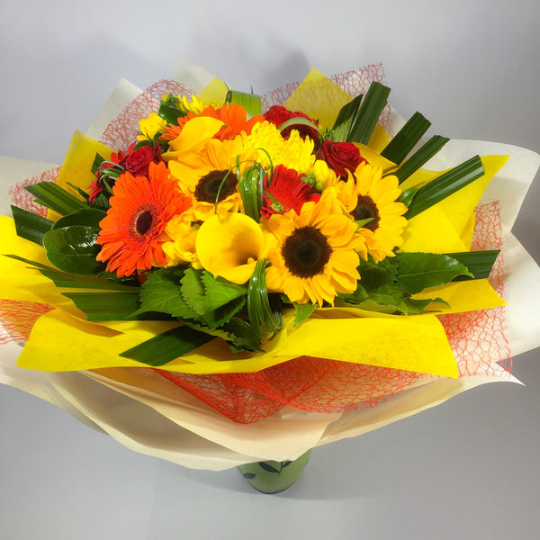 Big and colourful Valentine's Day flowers
