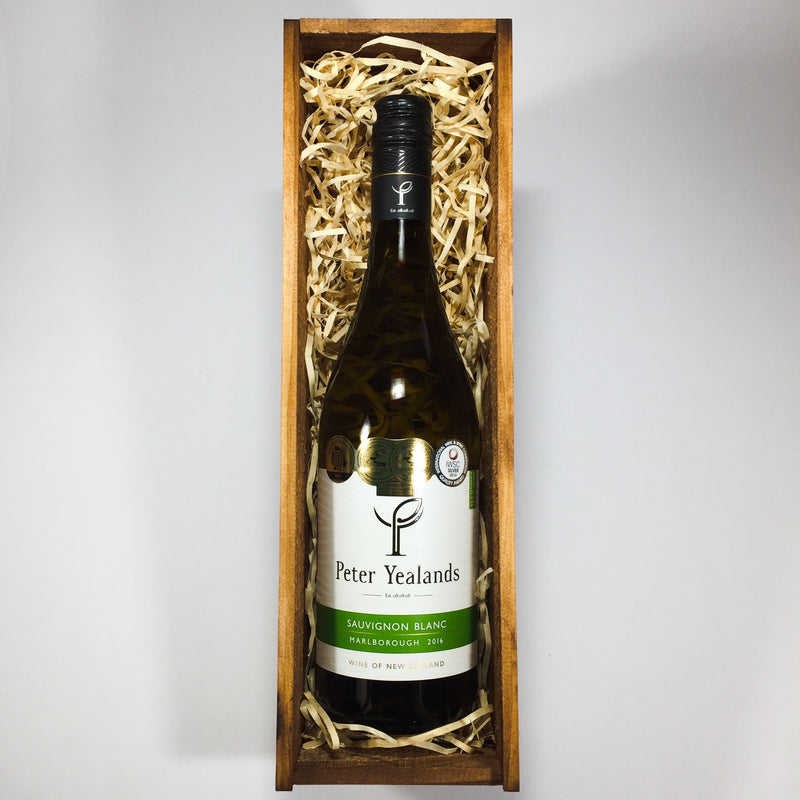 Wine in a Wooden Crate from Lower Hutt