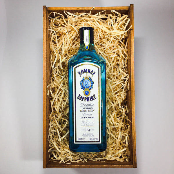 Pamper Gift Baskets with Bombay Sapphire Gin outside Porirua, Wellington