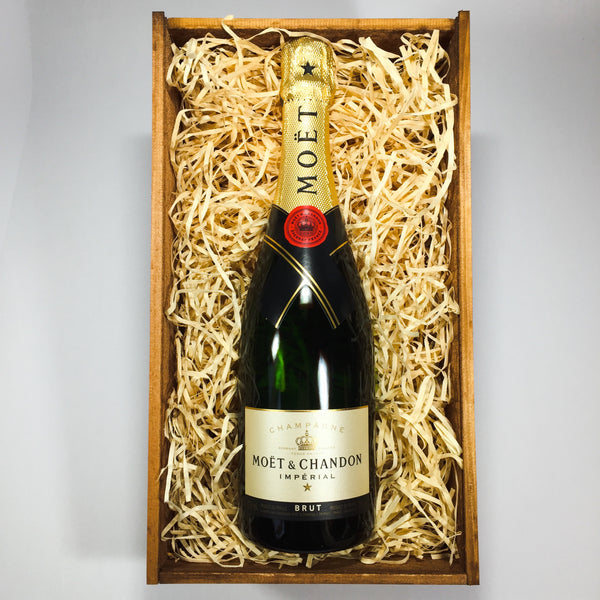Moet gift being sent from Lower Hutt florist