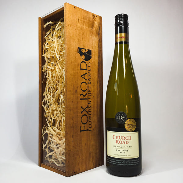 Church Road Pinot Gris inside corporate gift