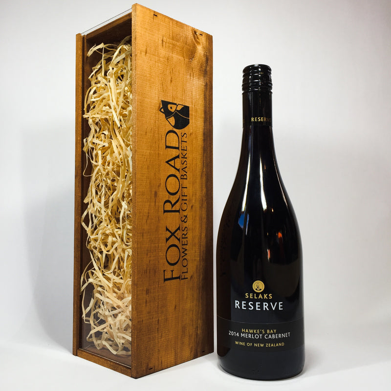 Selaks Reserve Merlot from Wellington