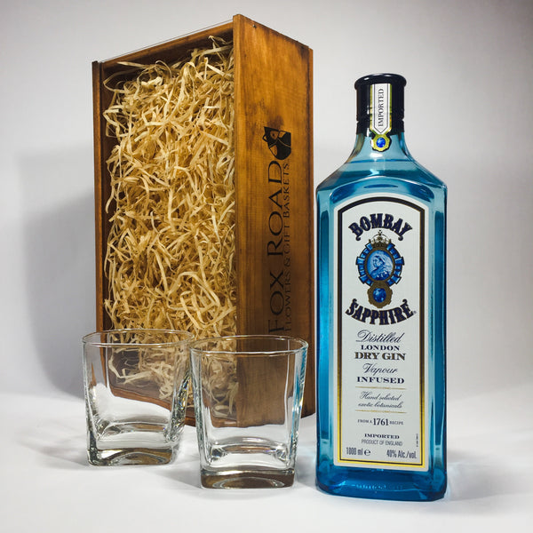 Mother's Day gin gift of Bombay Sapphire