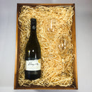 Mt. Difficulty Sauvignon Blanc Wooden Box with Wine Glasses