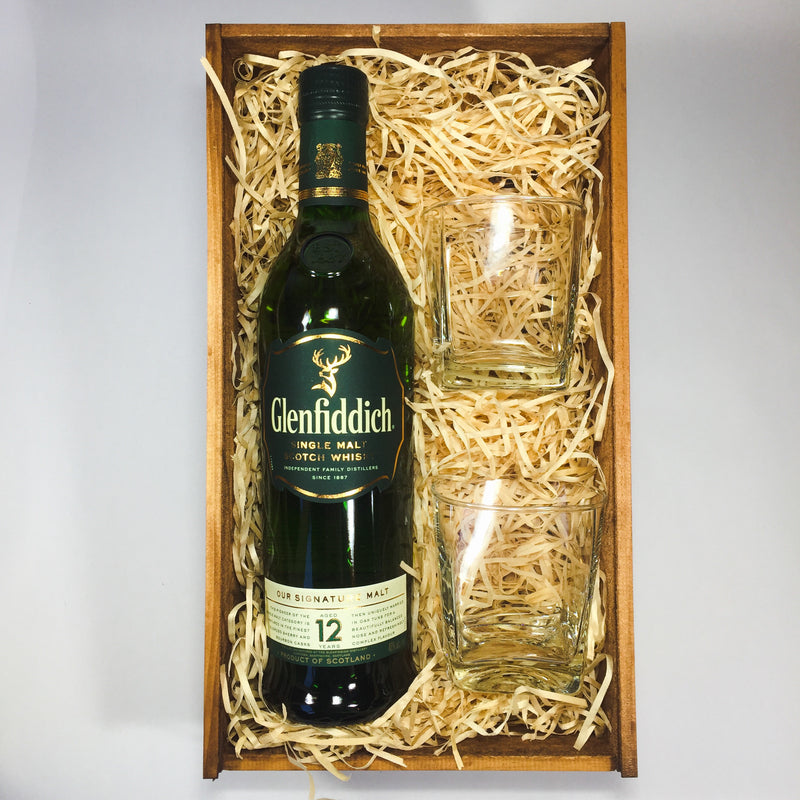 Glenfiddich whisky corporate gift for Father's Day