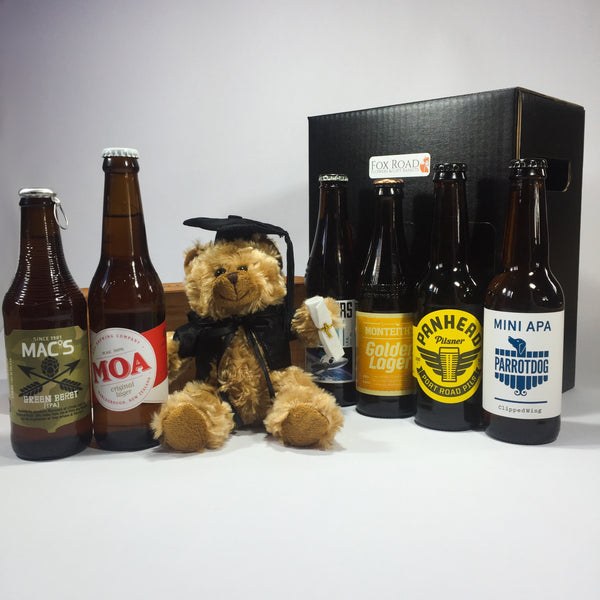 Graduation Bear and beer celebrations in New Zealand