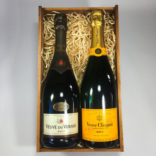 Veuve Clicquot Champagne from Wellington