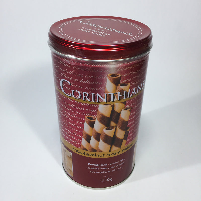 Corinthians cream wafers available at Christmas