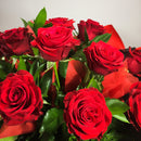 Upper Hutt red roses made by qualified florist