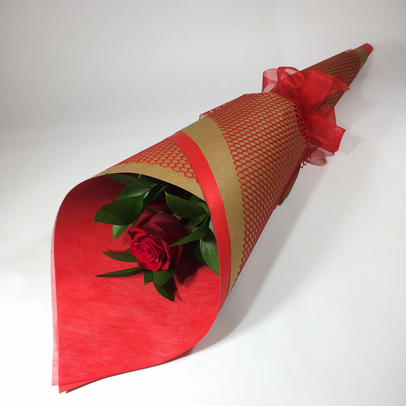 single red rose for Wellington Valentine's Day