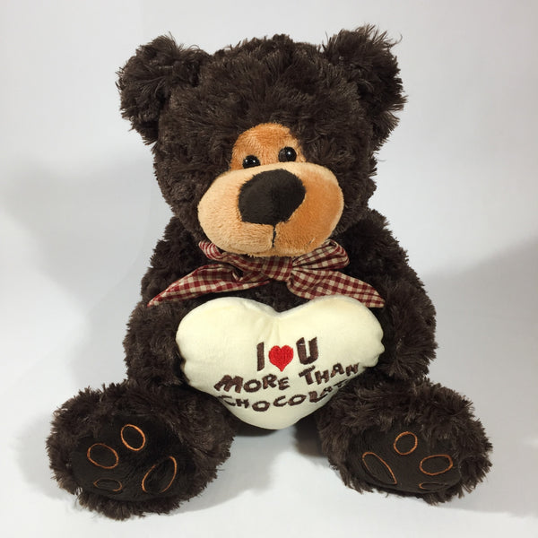 Chocolate teddy bear for Porirua