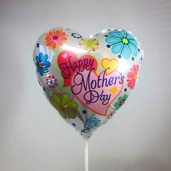 Mother's Day balloon with flowers