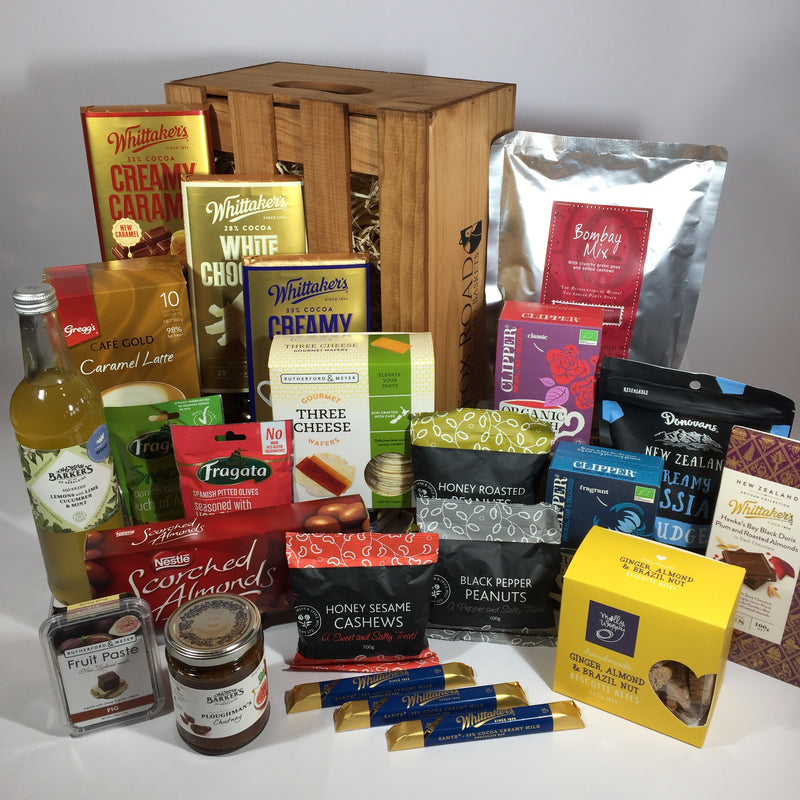 Large father's day hamper with chocolate