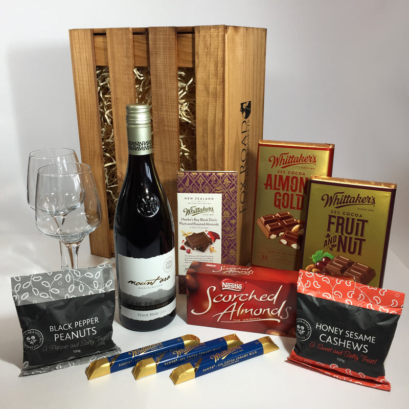 Nuts and Whittaker's Chocolate gift box