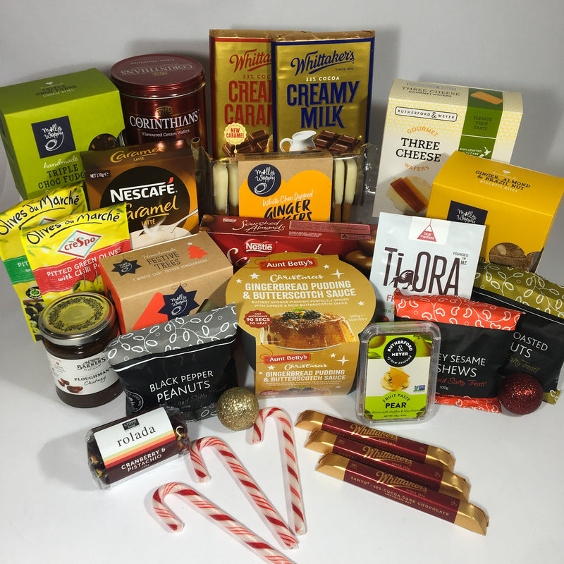 Large Christmas gift hamper for family