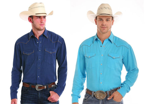 Panhandle Rough Stock by Escalante Solid Snap Shirt