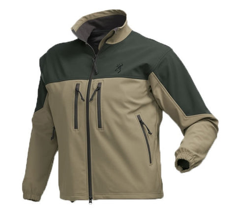 Browning Men's Cross Country WindKill Khaki Loden Jacket - 3041304006