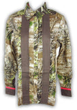 Womens Realtree Girl Montana Shirt Camo Button Down Top Max-1 Camouflage