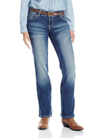 Wrangler Women's Mae Premium Patch With Booty Up Technology Jean - 10MWZCT