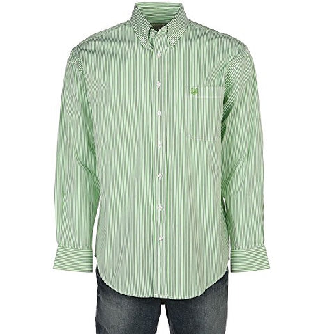 Panhandle Men's Rough Stock by Alford Classic Sport Stripe Shirt - R0d5046-45 (2 Colors)