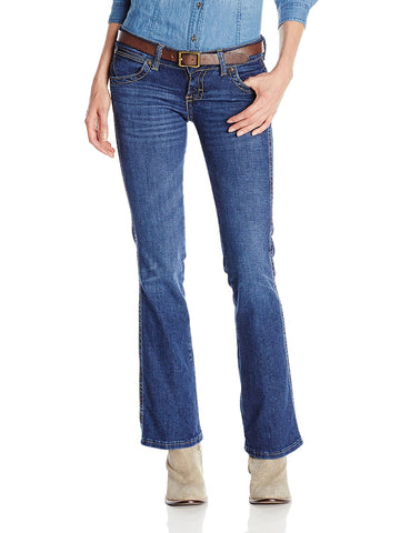 Wrangler Women's Sadie Premium Patch Sit Above Hip  Jean - 07MWZBD