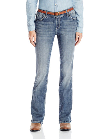Wrangler Women's Mae Premium Patch with Booty up Technology Jean - 10MWZYA