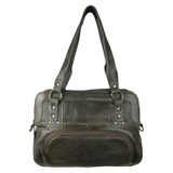 Corral Olive Green Rustic Sport Bag - AN1319