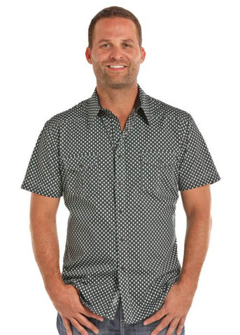 Rock and Roll Cowboy Mens WSL Snap Shirt S Multi