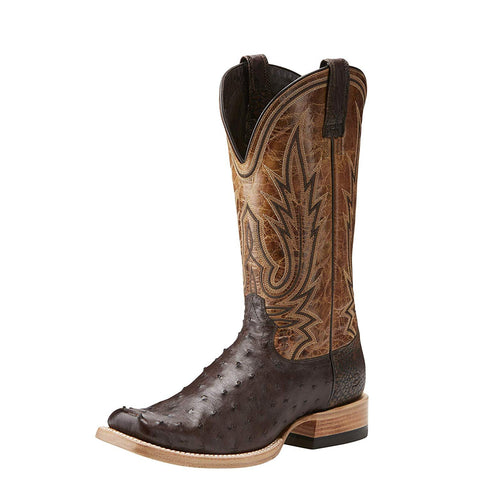 Men's Relentless All Around Full Quill Ostrich Western Boot - 10021668