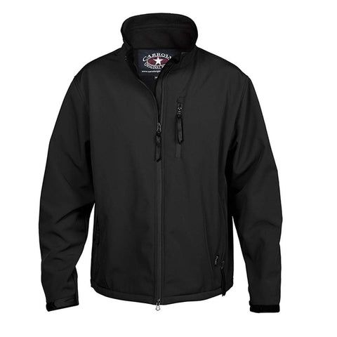 Carroll Original Wear Soft Shell Jacket, The Short Round Black COW5684