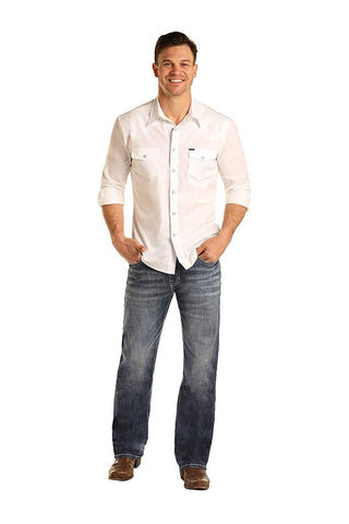 Men's Double Barrel Relaxed Straight Jeans M0S3385 32x34